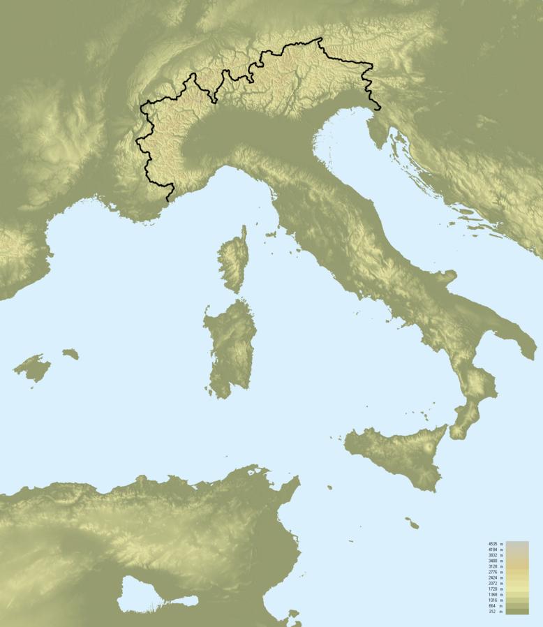 Cartina Geografica Italia Africa.Geografia Dell Italia Fie Italia
